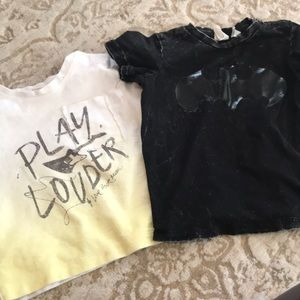 Other - Two Zara t-shirt bundle